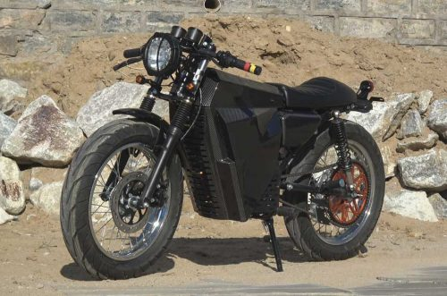 Cafe Racer electric motorcycle